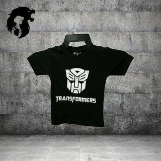 TRANSFORMERS AUTOBOT BLACK Kids T-Shirt  TRSC-A014