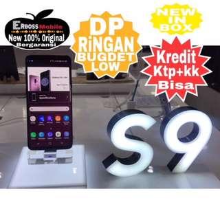 Samsung S9 New Resmi SEIN cash/kredit Dp 3jt Promo ditoko call/wa;081905288895