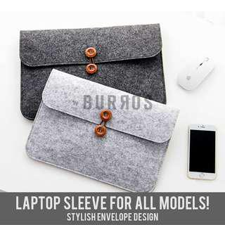 📣INSTOCKS📣 Caleb Button Laptop Sleeve Macbook Dell HP Asus