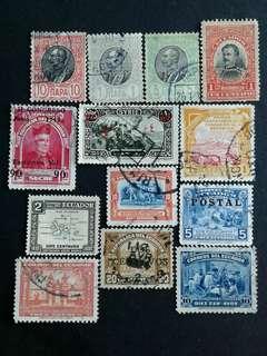 World vintage stamps#10
