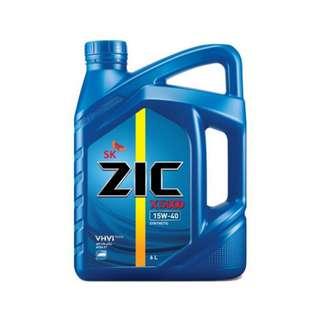 SK-ZIC X5000 15W40  6 Liters