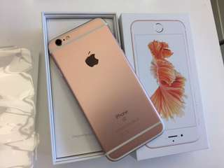 Iphone6s plus 128Gb 玫瑰金