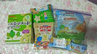Baby snacks 9m onwards