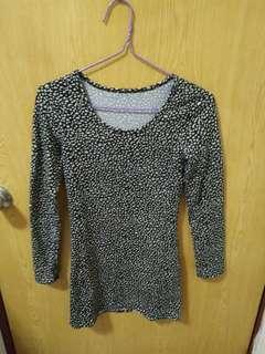 🚚 💓一件40三件100💓豹紋長版上衣