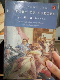 The Penguin History of Europe by JM Roberts