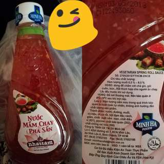 Vegetarian Spring Roll Sauce