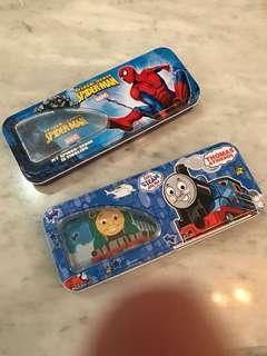 Kotak pensil Thomas & Spiderman