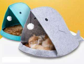 Tempat tidur anjing/ kucing portable