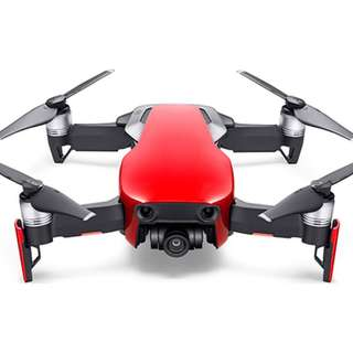 [1 Month Old] Mavic Air Flame Red Full Set with 3 Batteries | Rental