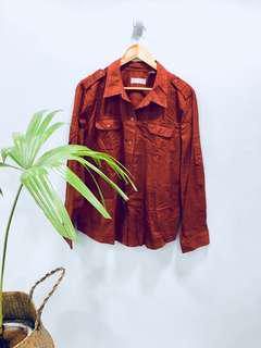 Liz Claiborne Rusty Classic Polo - Preloved, Excellent Condition