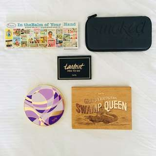 🚚 TARTE URBAN DECAY THEBALM EYESHADOW EYE FACE PALETTE MAKEUP DECLUTTER CLEARANCE