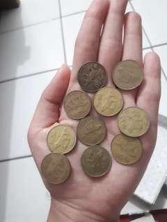 Uang Logam 50 Rupiah