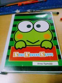Kerokeroppi Filler Notebook