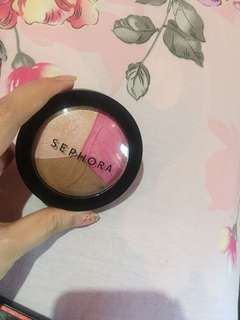 Blush, bronzer, highlighter sephora