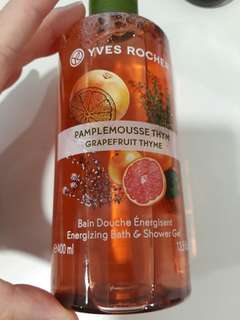 BN Yves Rocher Bath Shower gel grapefruit 400ml