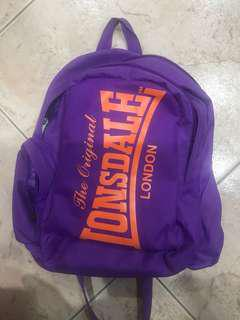 Original Lonsdale London backpack