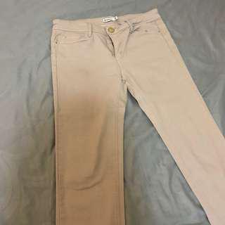 STRADIVARIUS nude jeans / pants