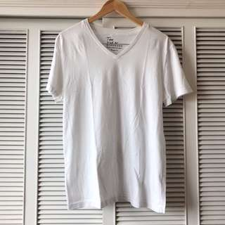 Giordano Men's White Shirt