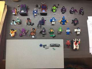 Lot of Kreo Transformers