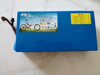 60v 15ah external lithium battery pack for escooter scooter ebike [BRAND NEW] [Ready stock]