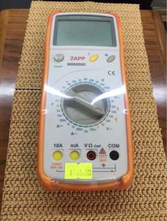 ZAPP MS8200D數字多用表