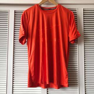 Nike Running Men's Orange Shirt