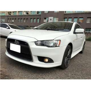 2012年FORTIS  IO版白色2.0跑12萬(可議價)大桃園優質二手中古車買賣