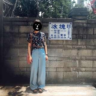 。error dot。日本昭和花朵上衣