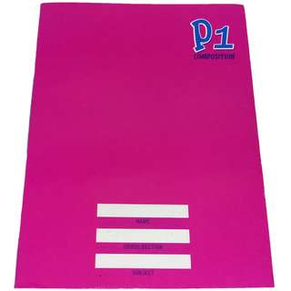 P1 COMPOSITION NOTE BOOK