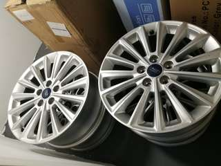 17 inch Ford Focus Original Rim Set + Wheel Nut