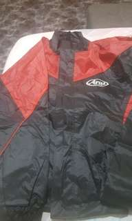 BN Arai Raincoat for bikers