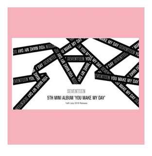 [PO]SVT 5th mini album- YOU MAKE MY DAY