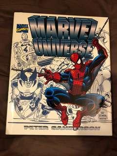 Marvel Universe Companion Book