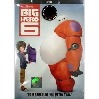 Disney Big Hero 6 Anime DVD