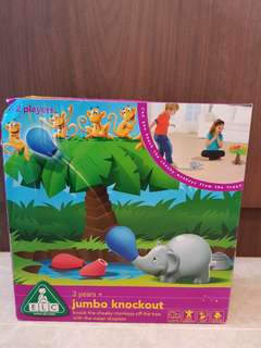"""BRAND NEW in BOX"""" ELC Jumbo Knockout - Knock the cheeky monkeys off the tree with the water droplets"""