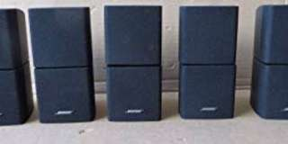 Bose cubes X5 (including cables $500 ) condition like new .comes  with Box