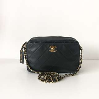 Authentic Chanel Small Camera Bag