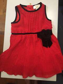 Kate spade女嬰紅色裙