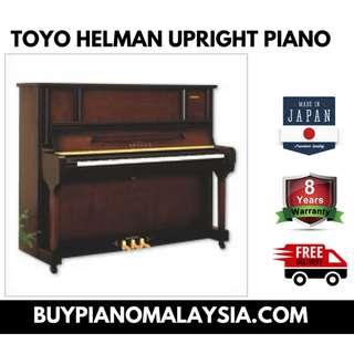 TOYO HELMAN UPRIGHT PIANO