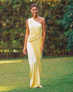 Lemon Yellow Gown