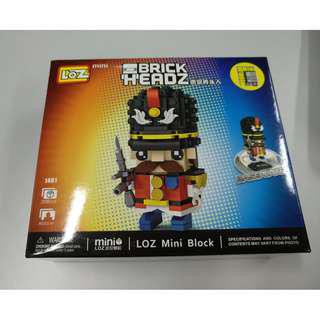Loz Mini Block Brick Headz 208 PCS 小士兵  1461