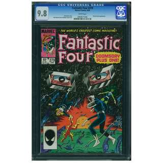 Marvel Comics Fantastic Four #279 CGC 9.8 John Byrne Copper Age Classic