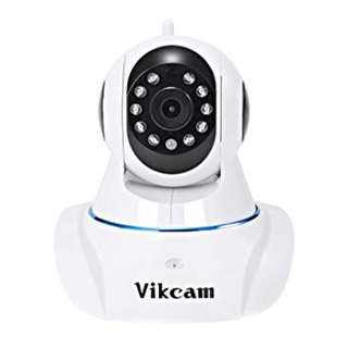 1088. Vikcam C25 Dome Camera Full HD 720P WiFi Surveillance Indoor Security Home CCTV Camera Two-Way Audio Motion Detection Mobile App Control