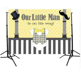 Gender Reveal Party Photobooth Backdrop