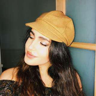 Baker Boy Hat - Camel Colour