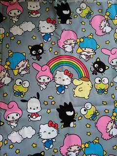 Sanrio friends - Fabric Swatch