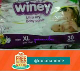 Winey Ultra Dry Baby Pants - XL