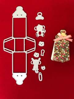 Gift box scrapbook Cutting Dies