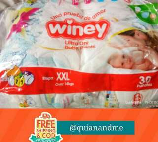 Winey Ultra Dry Baby Pants