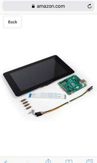 "7"" display for raspberry pi"